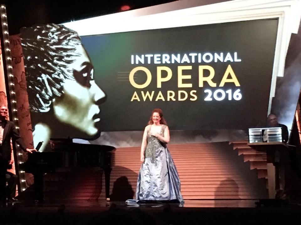 Ann Hallenberg wins Opera Award for Agrippina 2016