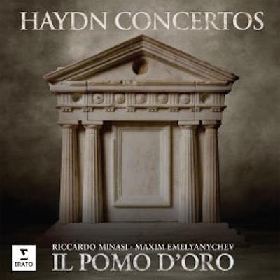 CONCERT RECORDING OF THE YEAR (19th CENTURY) Haydn Concertos Co-chief conductors Riccardo Minasi and Maxim Emelyanychev take turns on the podium leading il pomo d'oro in a rousing collection of concertos byHaydn.