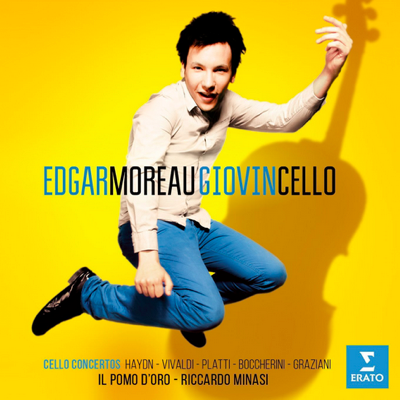 NEWCOMER (CELLO) Edgar Moreau The result of the fruitful collaboration between Edgar Moreau and Il pomo d'oro is an album of high energy and bubbling virtuosity, but also of refinement and a glorious Italianate sound.